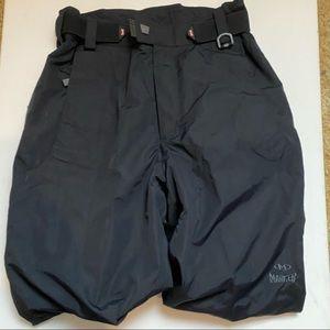 Black Marker Ski Pants